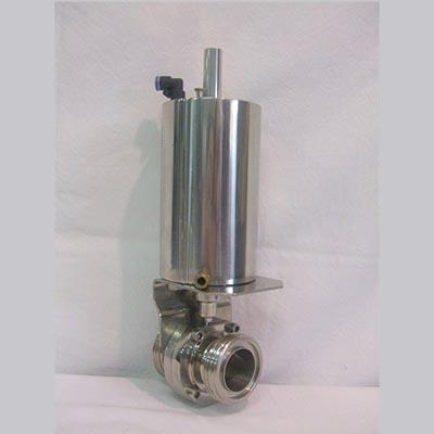 Válvula Borboleta com Atuador Pneumático